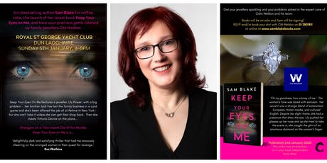 KEEP YOUR EYES ON ME Book Launch tickets