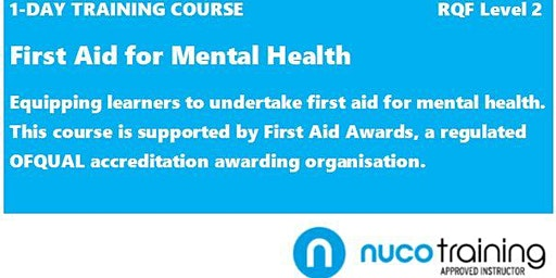 First Aid for Mental Health (Level 2 Award)