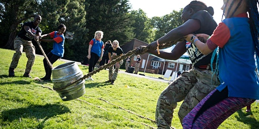 Lead Badge Day at Army Barracks in York, 14 March 2020