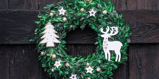 Laser Cut Wreath Decorations