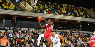 London City Royals v  Bristol Flyers  Basket Ball Game