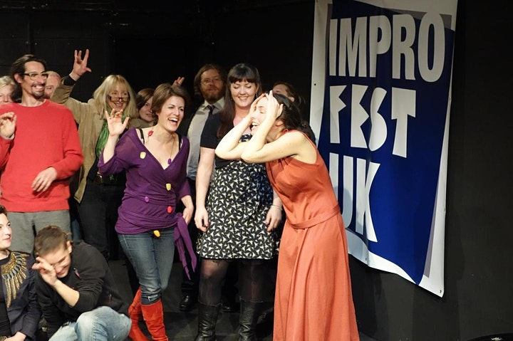 "ImproFestUK2019 - Fool Size Theatre present ""Women Who Wank"" image"