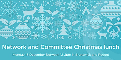 Network and Committee Christmas Lunch tickets