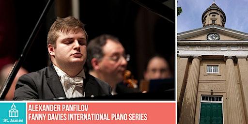 Fanny Davies International Piano Series - Alexander Panfilov