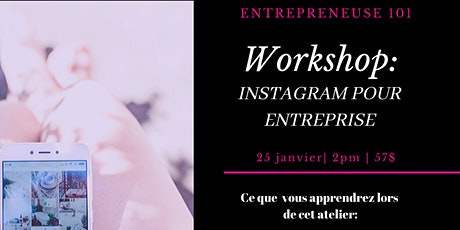 Workshop : Instagram pour entreprise billets