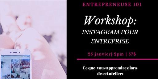 Workshop : Instagram pour entreprise