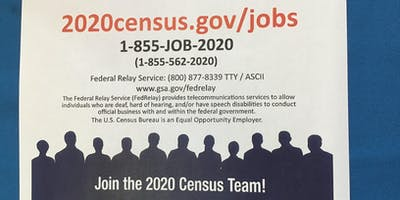 2020 Census Recruitment Event