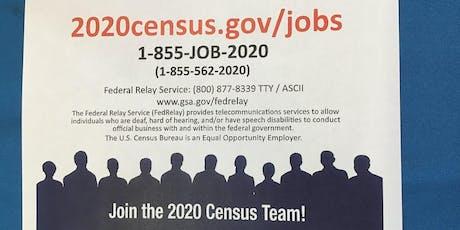 2020 Census Recruitment Event tickets