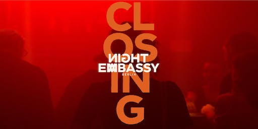Night Embassy Closing - Finland Takeover w/ Cledos, IBE, Melos