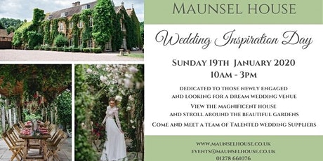 Maunsel House Wedding Inspiration Day tickets