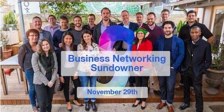 Facilit8 Networking Sundowner - November '19 tickets