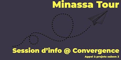 Minassa @ Convergence billets