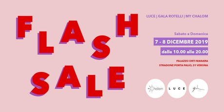 Flash Sale biglietti