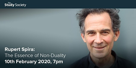 Rupert Spira: The Essence of Non-Duality – The Study Society tickets