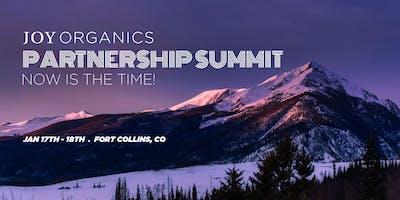 Joy Organics Partnership Summit