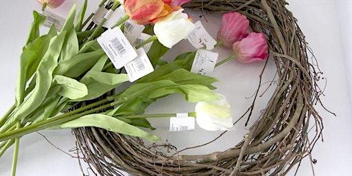 Flower Arranging: Spring Basket Wreath - Hucknall Library - Community