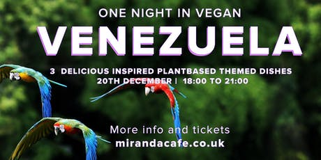 One Vegan Night in  Venezuela tickets