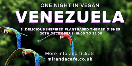 One Vegan Night in  Venezuela tickets