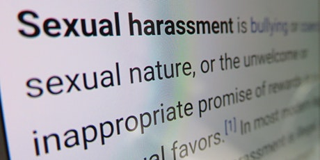 Sexual Harassment Prevention Training tickets