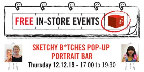 Sketchy B*tches Pop-Up Portrait Bar tickets