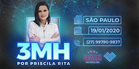 3MH - SÃO PAULO - PRISCILA RITA ingressos
