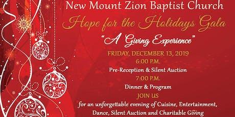 New Mount Zion Baptist Church 2019 Christmas Gala tickets
