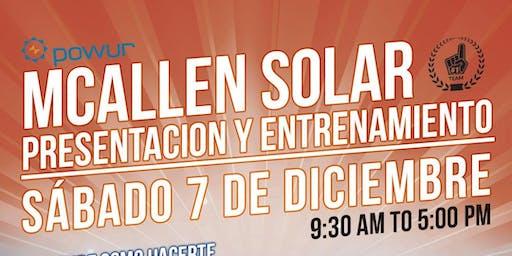 MCALLEN TEXAS SOLAR SATURDAY TRAINING EVENT