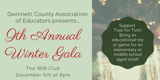 GCAE 9th Annual Winter Gala
