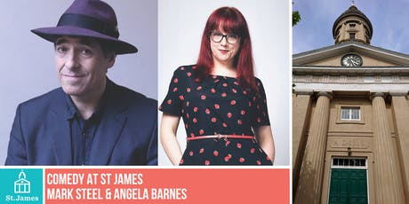 Comedy Night with Mark Steel & Angela Barnes tickets