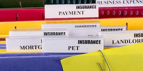 Organize Your Finances  tickets