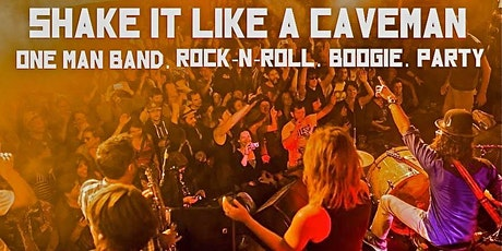 Shake It Like A Caveman in the Record Shop tickets
