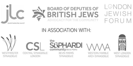 Cities of London & Westminster Jewish Community Hustings tickets