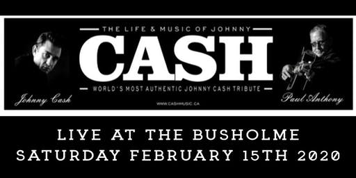 Johnny Cash Tribute Featuring Paul Anthony