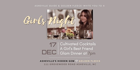 Cultivated Cocktails A Girl's Best Friend Glam Dinner at the Golden Fleece tickets