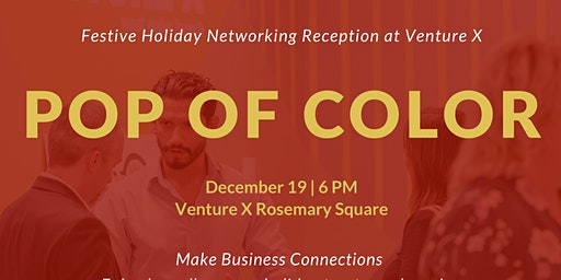 Pop of Color Holiday Networking Event