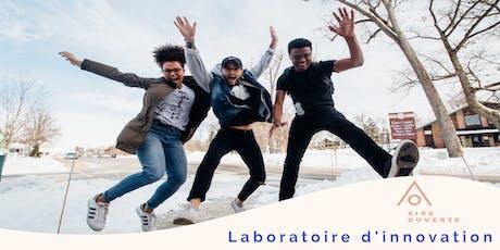 3e Laboratoire d'innovation Aire ouverte billets