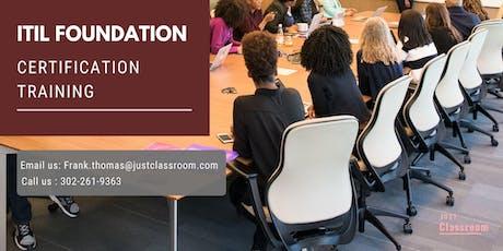 ITIL Foundation 2 days Classroom Training in Atlanta, GA tickets