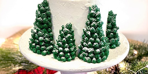 Mimosas & Holiday Cake Decorating