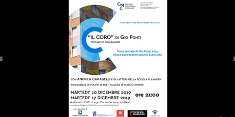 """""""Il coro"""" di Gio Ponti. Cronache immaginarie biglietti"""