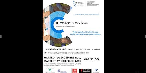 """""""Il coro"""" di Gio Ponti. Cronache immaginarie"""