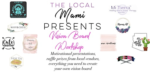 The Local Mami Vision Board Workshop