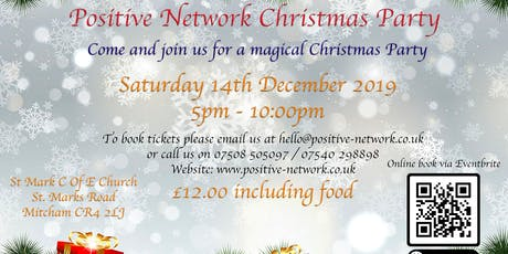 Positive Network Community Project Christmas Party 2019 tickets