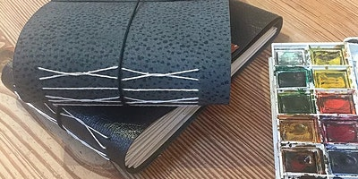 Collaborative bookbinding and sketching workshop