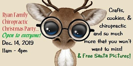 Claus, Cookies, Crafts, & Chiropractic (Everyone is Welcome!) tickets