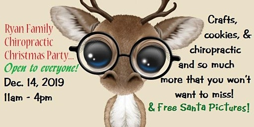 Claus, Cookies, Crafts, & Chiropractic (Everyone is Welcome!)
