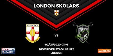 London Skolars vs West Wales Raiders tickets