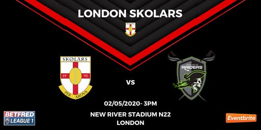 London Skolars vs West Wales Raiders