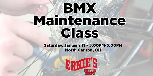BMX Maintenance Class - North Canton