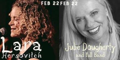 Lara Hersovitch and Julie Dougherty