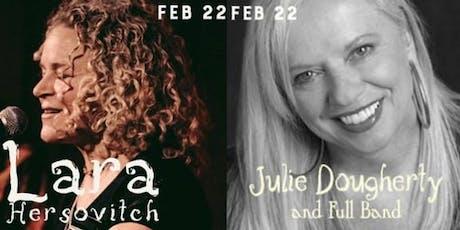Lara Hersovitch and Julie Dougherty tickets